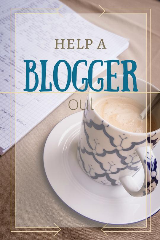 Help a Blogger